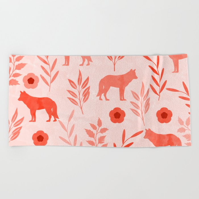 Forest Animal and Nature II Beach Towel