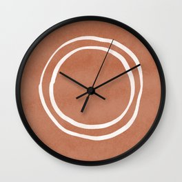 #5 Organic Circle Wall Clock