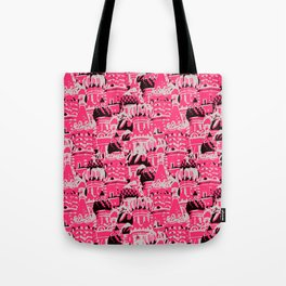Russian Rooftop Pattern Tote Bag