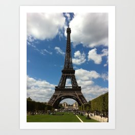 Parisian Summer Art Print
