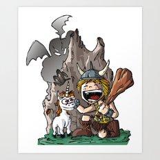 Dungeon! Art Print