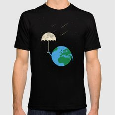 Moonbrella Mens Fitted Tee MEDIUM Black