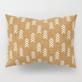 boho arrows on mustard Pillow Sham