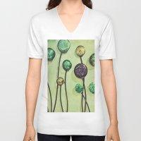 artsy V-neck T-shirts featuring Artsy Art by Artsy Arts By Rosanna.