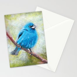Indigo Bunting Stationery Cards