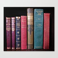 library Canvas Prints featuring library by Liudvika's Lens