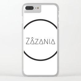 Zazania Clear iPhone Case