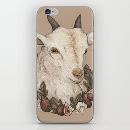 Goat and Figs iPhone Skin