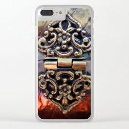 Katniss Clear iPhone Case