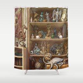 Chimaera Shelf Shower Curtain
