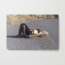 Roadkill Metal Print