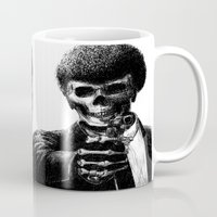 pulp Mugs featuring Pulp Fiction by Motohiro NEZU