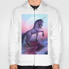 Black Unicorn - Romantic Fantasy Hoody