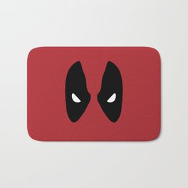 Deadpool Mask Bath Mat