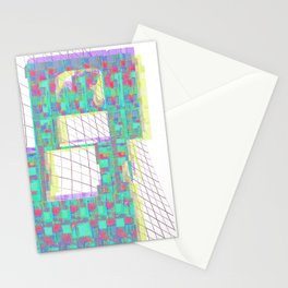 Glitched  Stationery Cards