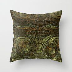 Welcome to the Machine Throw Pillow