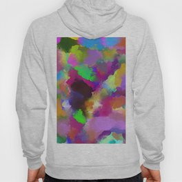 Expression Of Colour - Abstract, modern painting Hoody