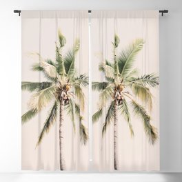 Tropical Palm Tree Blackout Curtain
