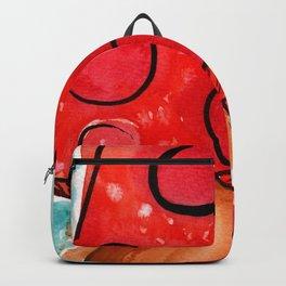 Messy Minimalist Mushroom Backpack