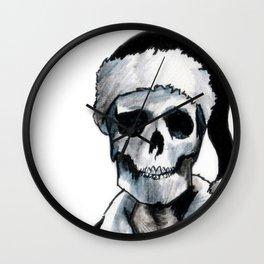 Blackest Ever Black Xmas Wall Clock