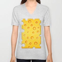 Swiss Cheese Texture Pattern Unisex V-Neck