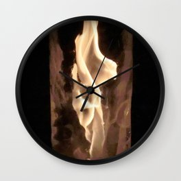 Fire from Ice - FredPereiraStudios.com_Page_46 Wall Clock