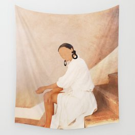 Lady in Waiting Wall Tapestry