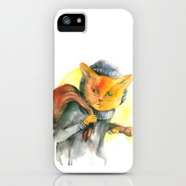 Cat Burglar iPhone Case