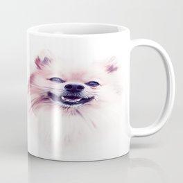The Smiling Pomeranian Coffee Mug