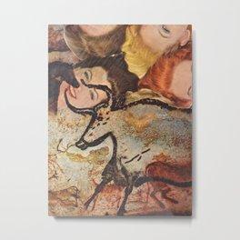Cave Women Metal Print