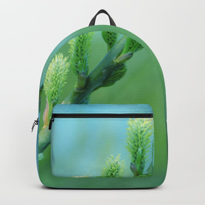 willow catkin Backpack
