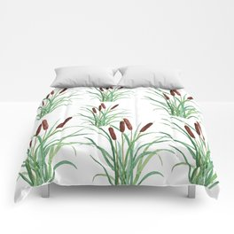 cattails plant Comforters