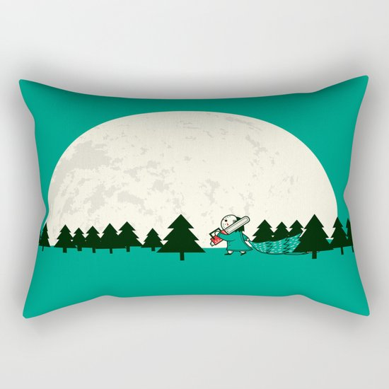 Christmas fell on Wednesday that year Rectangular Pillow