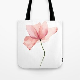 Watercolor Flower Original Artwork Tote Bag