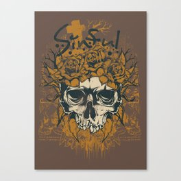 Sinful roses Canvas Print