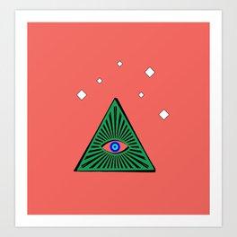 The Evil Eye Art Print