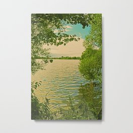 Mecklenburg Vorpommern, a place at thousends of Seas Metal Print