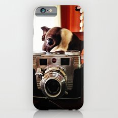 Terrier has an eye for photography Slim Case iPhone 6s