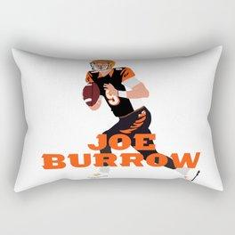Joe Burrow #1 Pick Art Rectangular Pillow