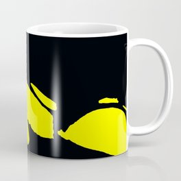 Seductive Look Yellow & Black Coffee Mug