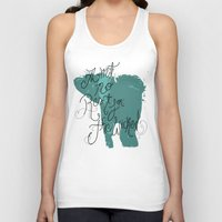 wicked Tank Tops featuring Wicked by Caitlin Victoria Parker