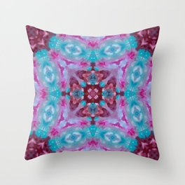 Feathered Stardust Throw Pillow