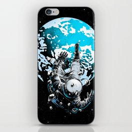 The Lost Astronaut  iPhone Skin