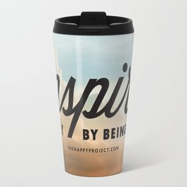 Inspire Simply Be Being You Travel Mug
