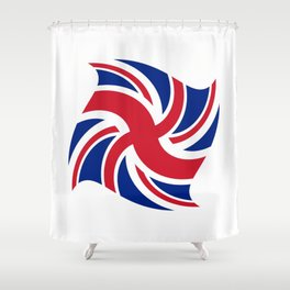 Flag of UK 16- London,united kingdom,england,english,british,great britain,Glasgow,scotland,wales Shower Curtain