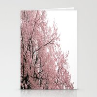 cherry blossoms Stationery Cards featuring cherry blossoms by 2sweet4words Designs