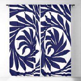 """William De Morgan """"Decorative scroll"""" 2. Blackout Curtain"""