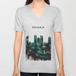 Dhaka Skyline Unisex V-Neck