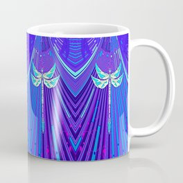 Electric Charged Zinger Dragonfly  Coffee Mug
