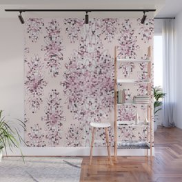 Abstract Cherry Blossoms Wall Mural